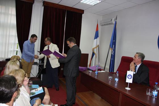 Додјела сертификата полазницима прве генерације Дипломатске академије