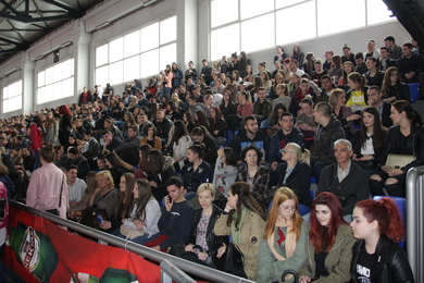 The 'Open Day' event at the University organized on 18 april gathered 2,000 final-grade secondary school students