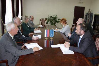 Talks with Minister of Science and Technology on continuing the cooperation