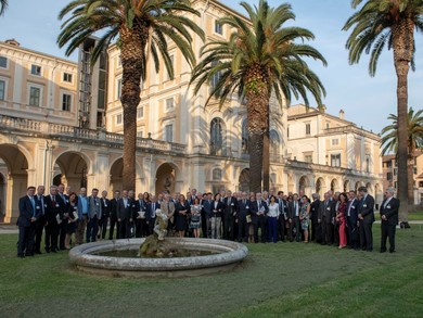Vice-Rector Antunovic at the conference in Rome