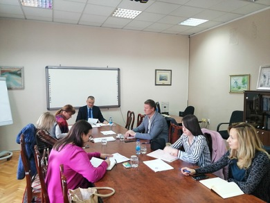 Working Group for the Implementation of the Charter and Code of the University of Banja Luka Held a Session